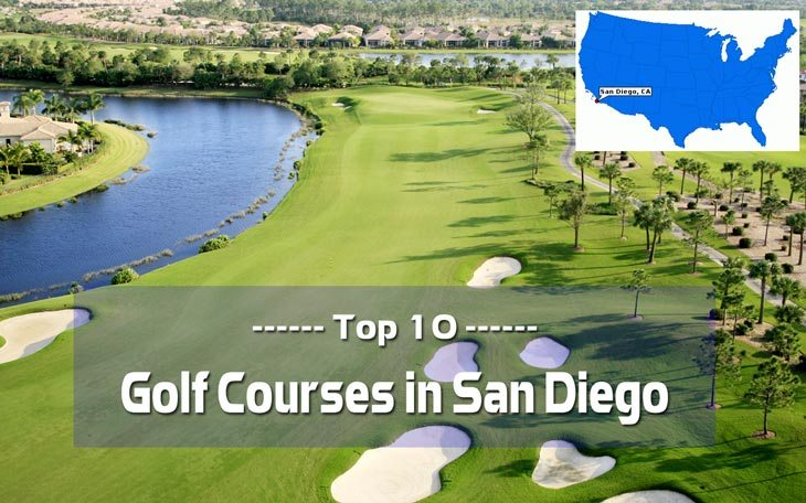 Top 10 golf courses in san diego
