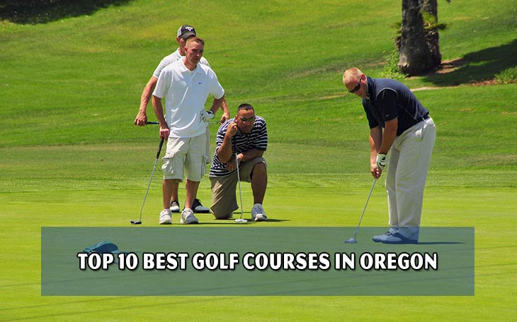 Top 10 best golf courses in Oregon