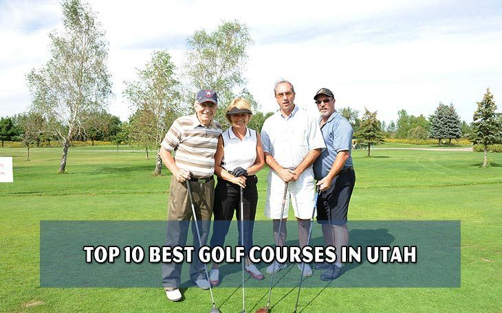 Top 10 best golf courses in Utah